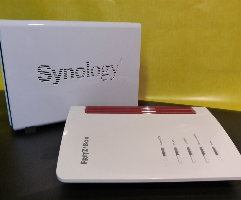 Fritzbox mit Synology NAS